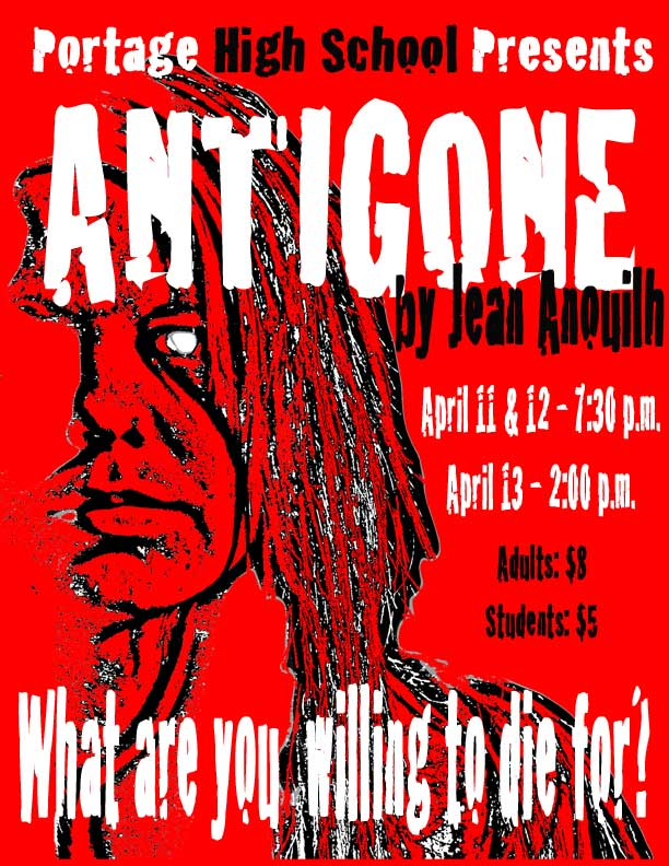 the changing views of the chorus in the play antigone Sophocles' antigone: ancient greek theatre, live from antiquity tools imagine themselves time-traveling reporters sent back to the time of sophocles to report on the opening of his new play, antigone the greek chorus and its various functions (with an example of each) ode.