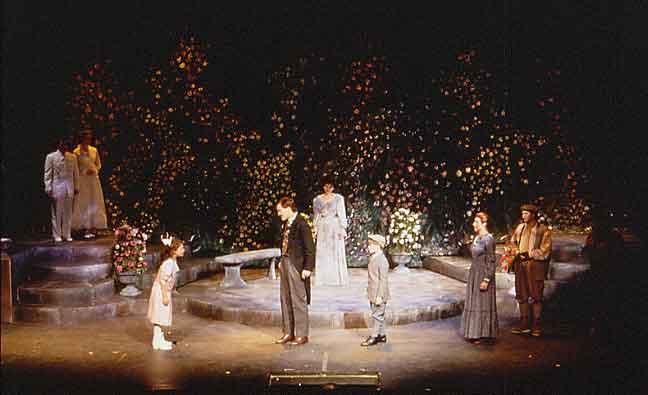 patrick m strain lighting design the secret garden - The Secret Garden Musical
